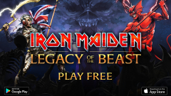"Iron Maiden пуснаха играта ""Legacy Of The Beast"""