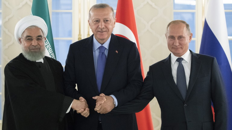 Турция, Русия и Иран трябва да поемат повече отговорност за