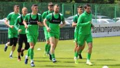 Футболистите на Пирин проведоха първа тренировка за седмицата