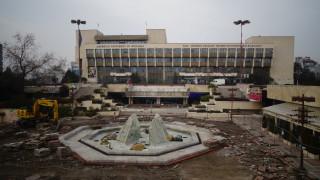 Ремонт на емблематичен площад в Благоевград
