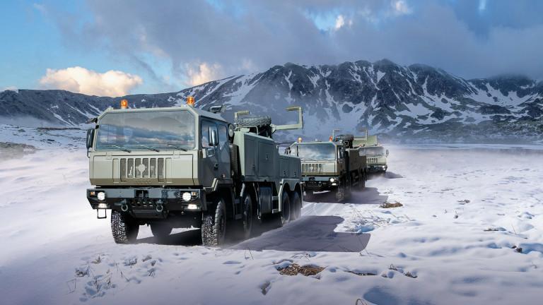 Италианска фирма инвестира €50 милиона в завод за военни камиони в Румъния