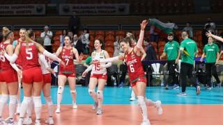 Волейболистките играят две контроли с Турция