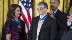 Обама връчи за последен път като президент Медала на свободата