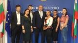 Министър Кралев и ръководството на Национален младежки форум обсъдиха конкретни мерки за развитие на младежкия сектор