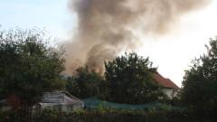 Мъж пострада при пожар край село Кърналово