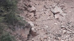 Започна укрепването на пътя към Рилския манастир