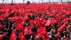 Ердоган събра милиони избиратели на мащабен митинг в Истанбул