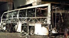 Автобус с ученици катастрофира и избухна в пламъци в Италия