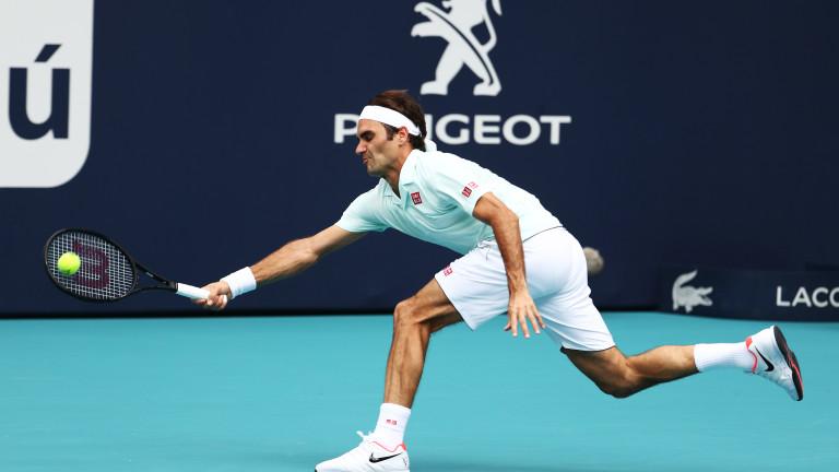 Роджър Федерер се класира за осминафинал на турнира