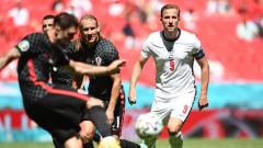 Англия - Хърватия 0:0, домакините трудно стигат до голови положения