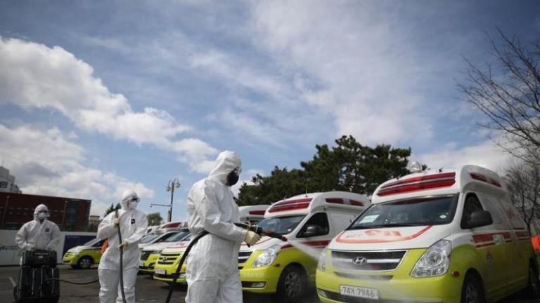 Броят на случаите на COVID-19 в Южна Корея се увеличи