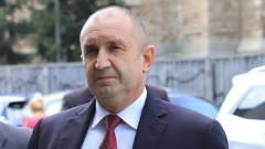 Радев не изключва служебни министри от правителство, чака принципи и приоритети