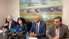 """Комплексът """"Марица-изток"""" остава базов с хоризонт до 2050 г., уверява Петкова в Раднево"""