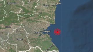 Серия от слаби земетресения в Югозапада и по Черноморието