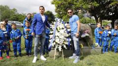 Левскари поднесоха венци и цветя за 105-ата годишнина на клуба
