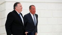 Лавров и Помпео обсъдиха глобални проблеми
