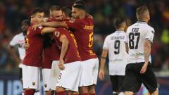 Рома се сбогува с Де Роси с пирова победа