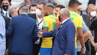ФИФА: Събираме всички гледни точки за случилото се по време на мача Бразилия - Аржентина
