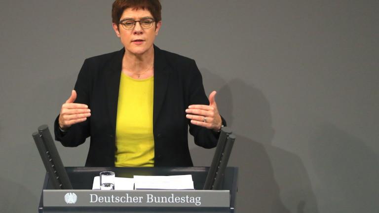 Разпад на управляващата голяма коалиция в Германия се появи на хоризонта