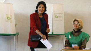 Саломе Зурабишвили печели президентските избори в Грузия