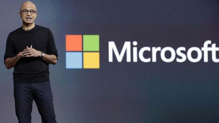Microsoft e най-скъпата компания в Америка. Тя надмина $1 трилион
