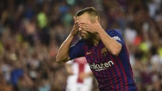 Жорди Алба: Не отпразнувах гола си за Барса по този начин заради Луис Енрике