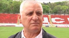 ЦСКА поздрави Борис Гаганелов