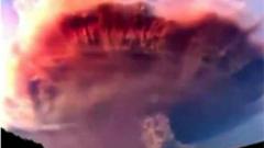 Заснеха вулканичен облак (ВИДЕО)