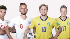 Швеция и Англия един срещу друг в третия четвъртфинал на Мондиал 2018