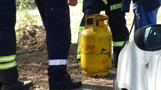 Газова бутилка се запали в апартамент в Монтана