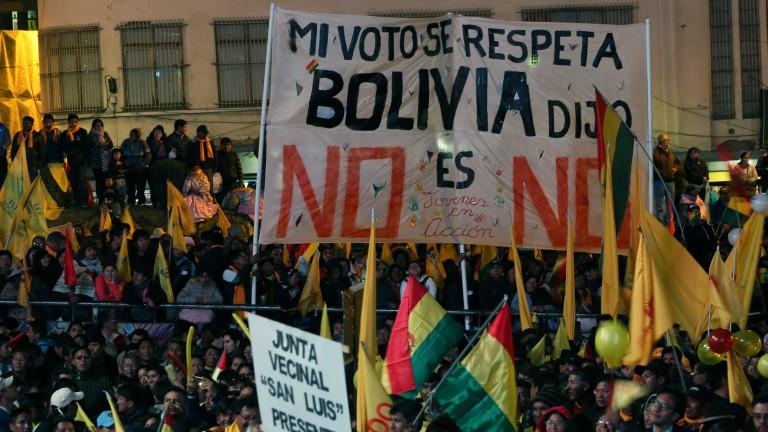 Протести в Боливия срещу Моралес