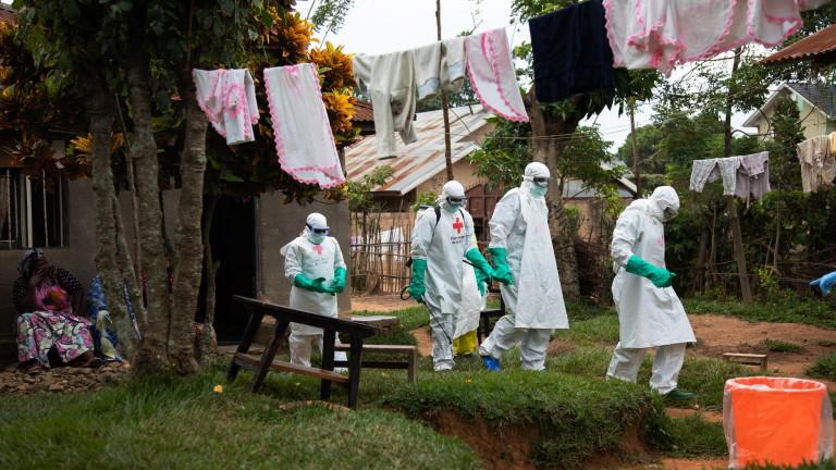 Смъртоносното огнище на болестта ебола в източната част на Конго