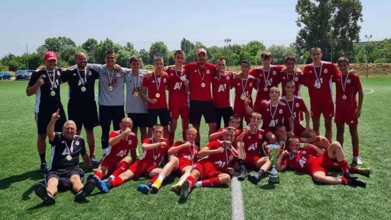 ЦСКА стана шампион при U15
