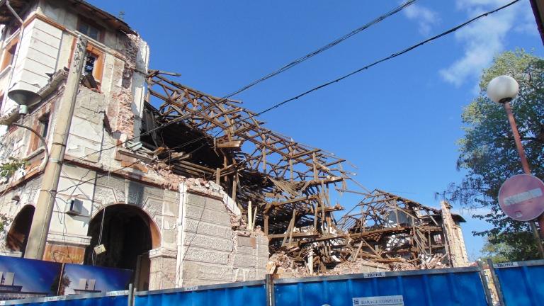Събарянето на Тютюневия склад в Пловдив е незаконно