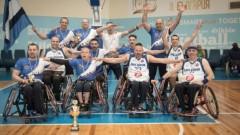 Левски е новият шампион по баскетбол на колички на България