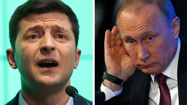Путин и Зеленски обсъдиха газа и инцидента в Керченския проток