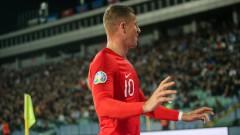 България - Англия 0:3, нов гол на Баркли, официално предупреждение за проява на расизъм