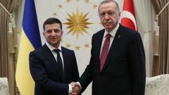 Ердоган пред Зеленски: Турция няма да признае анексията на Крим от Русия