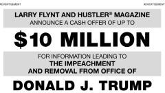 Лари Флинт предлага $10 млн. за компромат срещу Тръмп
