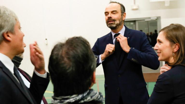 Френското правителство е решено да проведе пенсионната реформа