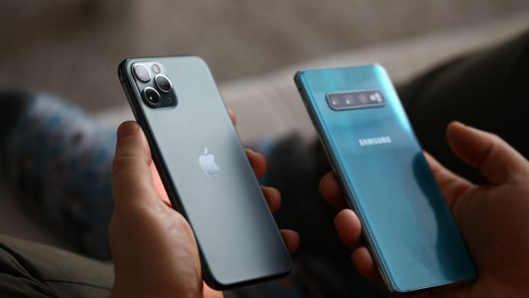 Защо Apple плаща близо милиард на Samsung