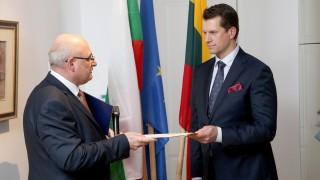 България откри почетно консулство във Вилнюс