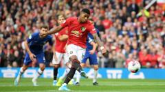 Челси - Манчестър Юнайтед 1:2, уникален гол на Рашфорд от свободен удар!