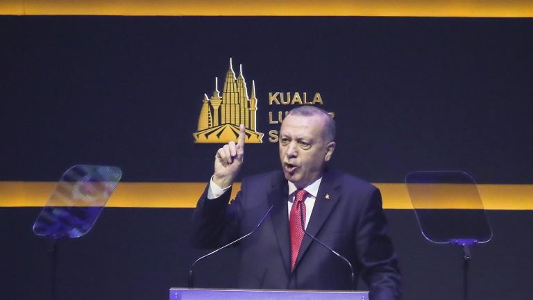 Ердоган скастри мюсюлманските страни, не го подкрепяли за презаселване на бежанците в Сирия