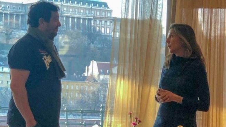 Президентът на Българската федерация по тенис Стефан Цветков се срещна