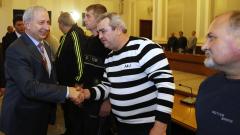 """Герджиков благодари лично на строителите за ремонта на тунел """"Ечемишка"""""""