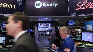 Борсовият дебют на Spotify направи основателите си милиардери