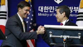 САЩ вече не иска $5 милиарда от Южна Корея за съвместни военни разходи