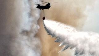 Пожар предизвика еквауация на стотици хора в Гърция
