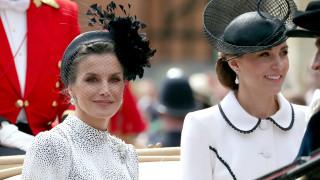 Общото между кралица Летисия и Кейт Мидълтън